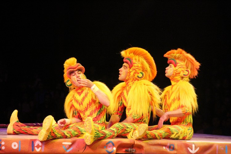 festival of the lion king monkey