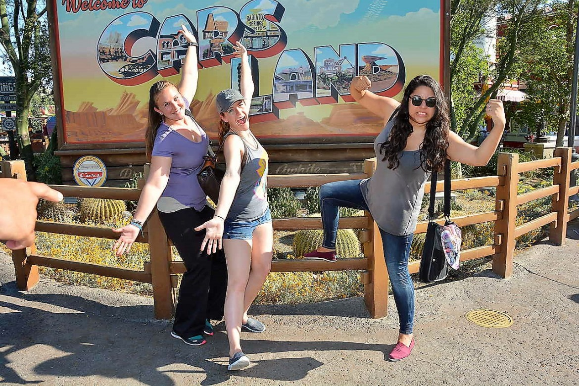girls day out disneyland