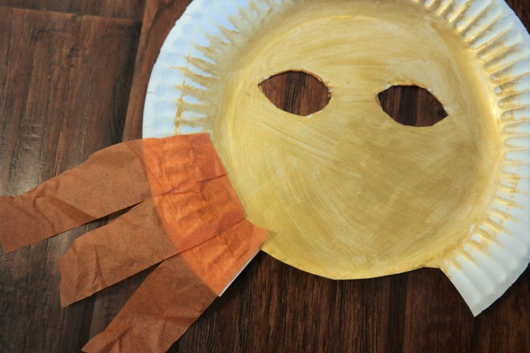 lion king paper plate lion mask 12