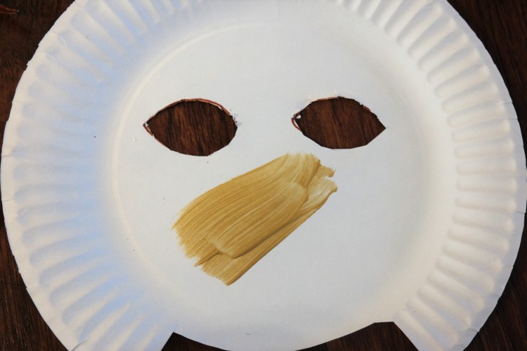 lion king paper plate lion mask 14