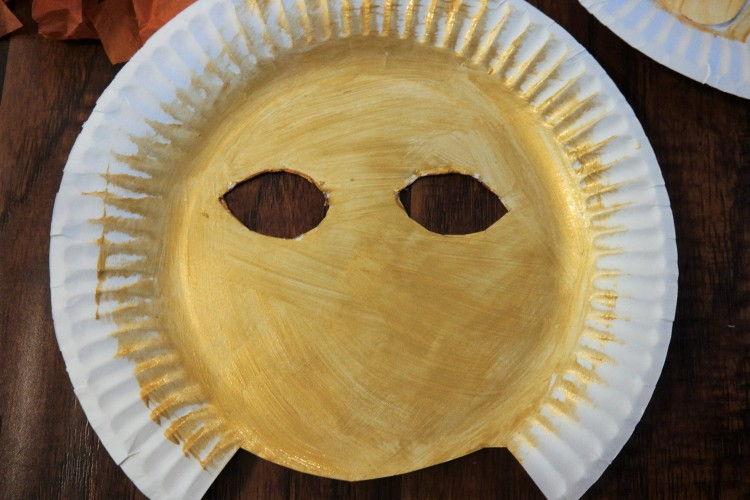 lion king paper plate lion mask 15