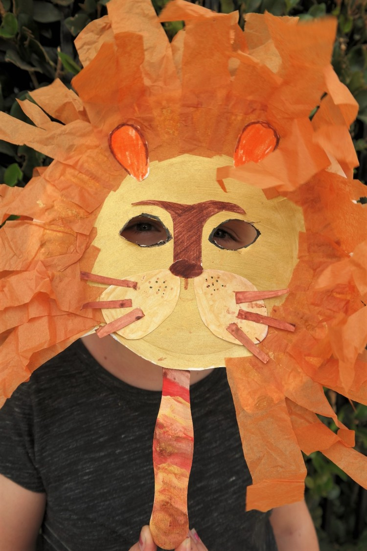 lion king paper plate mask paper plate Lion mask & Lion King Inspired Craft: Paper Plate Lion Mask + Giveaway - That\u0027s ...