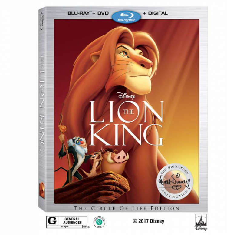 lion king signature collection