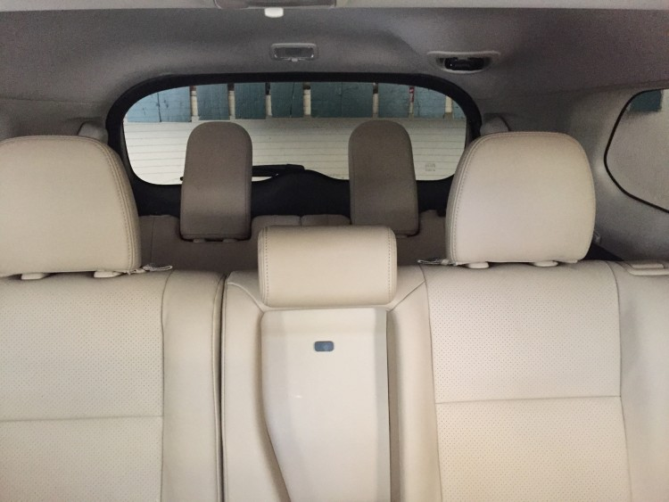 mitsubishi backseat