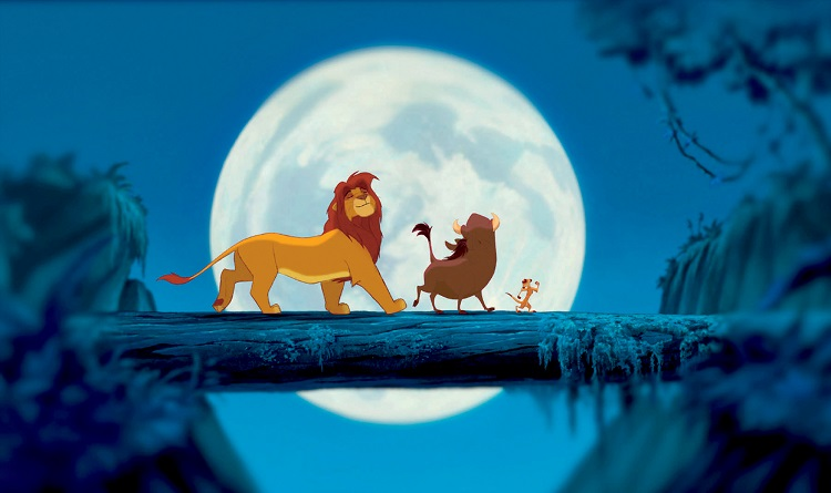 """The King returns"", in the Walt Disney Lion King Signature Collection on Blu-ray!"
