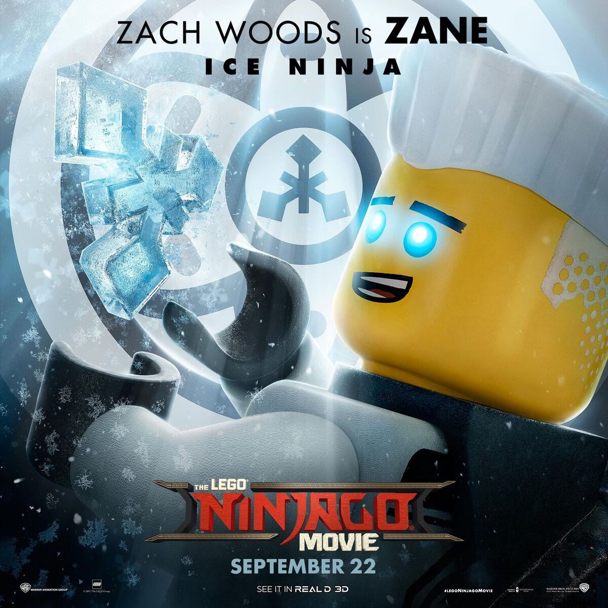 Lego Ninjago Movie ZANE