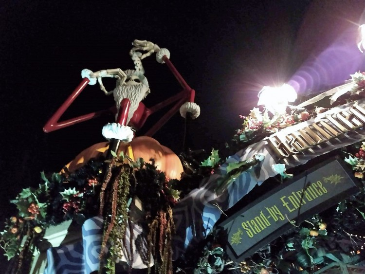 haunted mansion holiday, Jack skellington