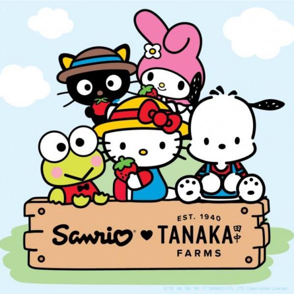 sanrio x tanaka farms