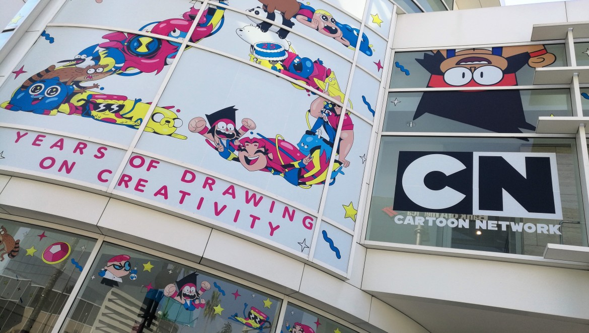 Cartoon Network: 25 Years of Drawing on Creativity, Paley Center Media exhibits, cartoons, los angeles free events