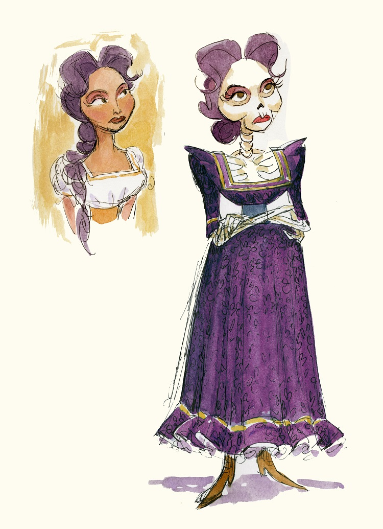 COCO - Mamá Imelda concept art by Daniela Strijleva. ©2017 Disney•Pixar. All Rights Reserved.
