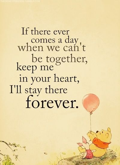 if there ever comes a day pooh