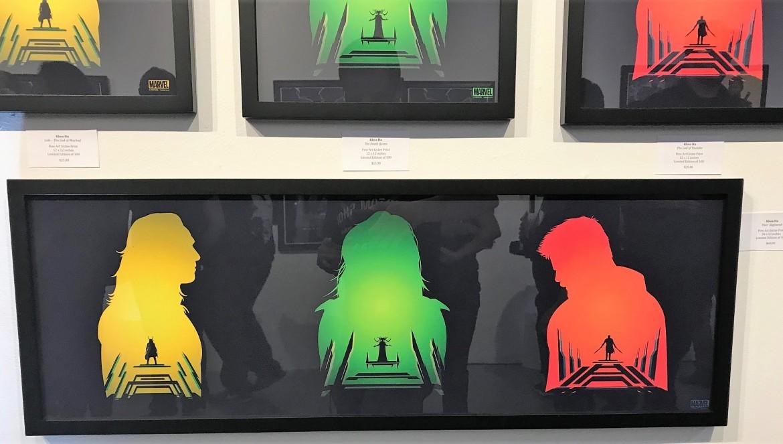 thor artwork, hero complex art show