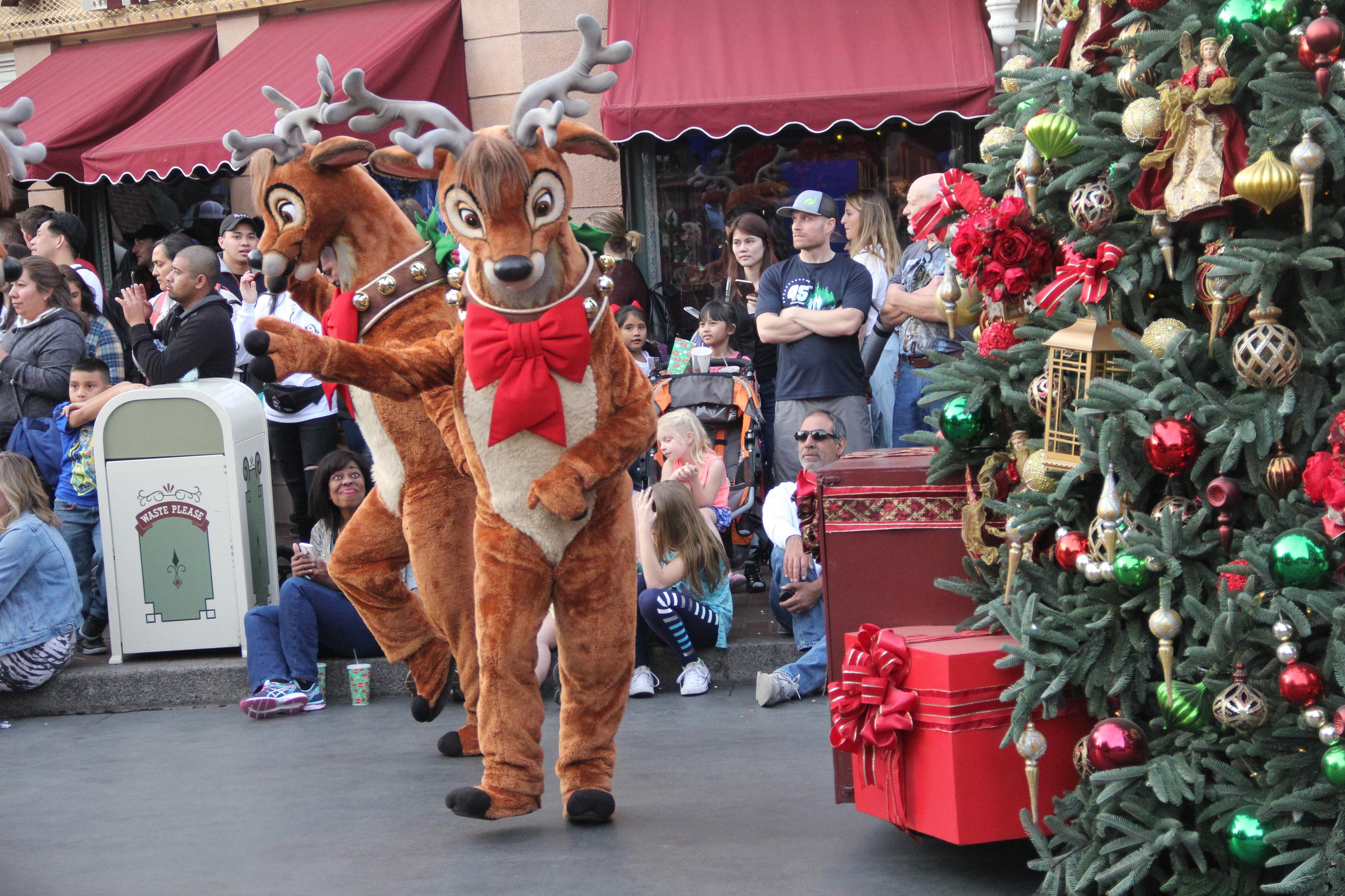 disneyland holidays parade hours