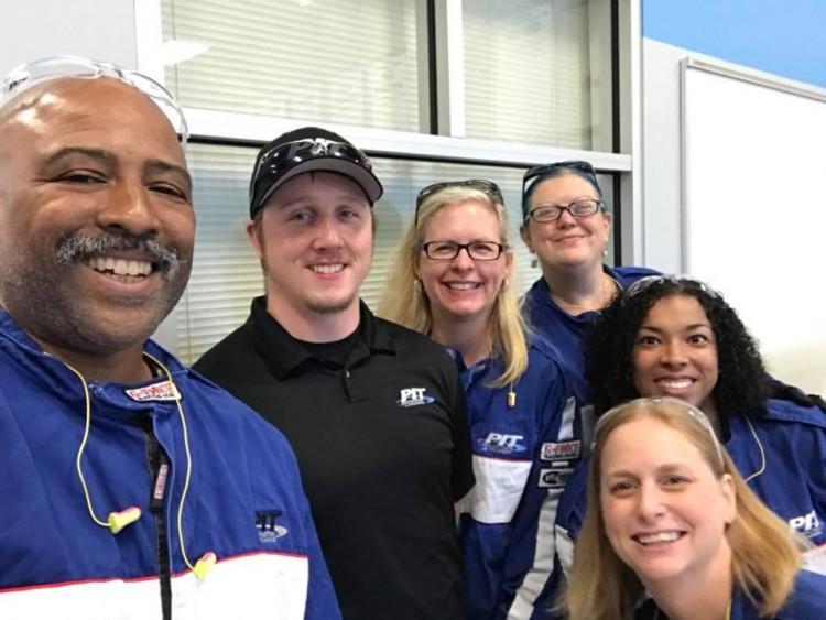 pit crew experience team