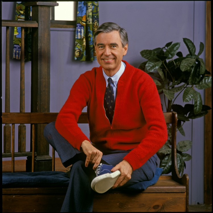 Mister rogers, it's you I like