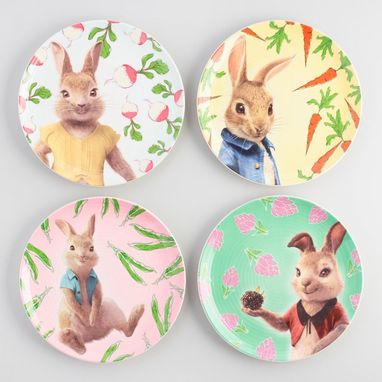world market peter rabbit plates