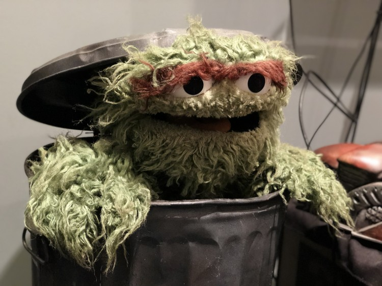 oscar the grouch, jim henson studios