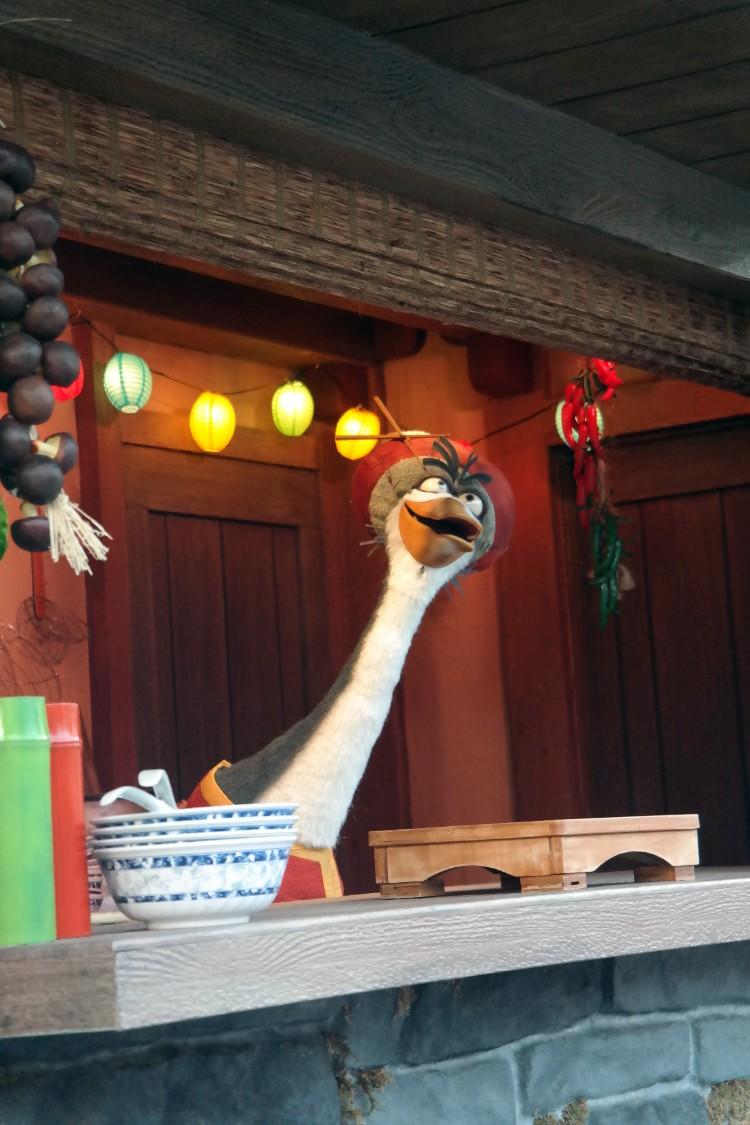 dreamworks theater, kung fu panda, what to eat at Universal Studios, Mr Ping