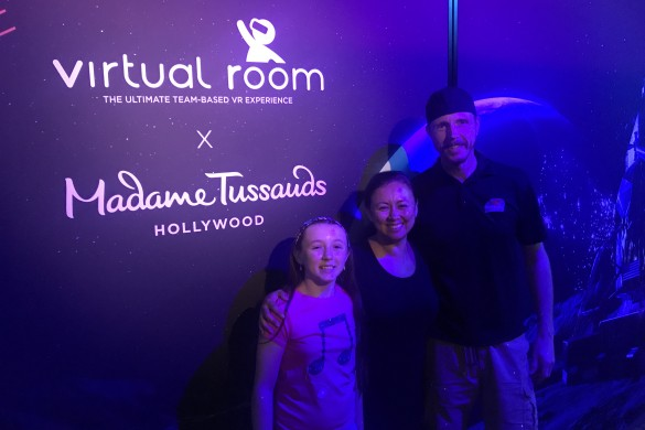 Virtual Room Hollywood, Virtual reality experience Madame Tussauds