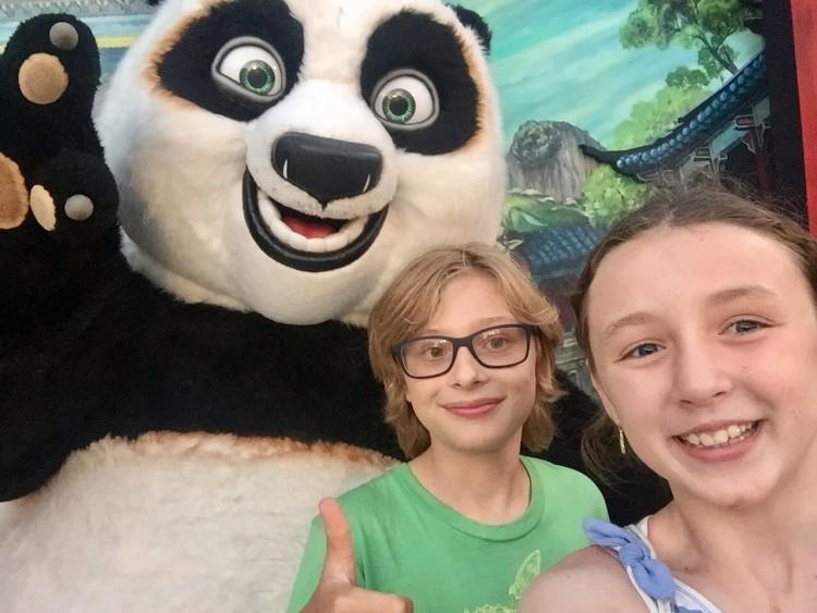 kung fu panda meet and greet universal