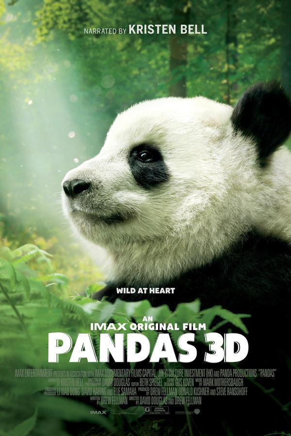 Pandas 3D Imax