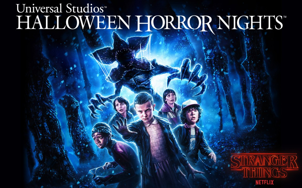 Stranger Things , Halloween Horror NIghts, Universal Studios Hollywood