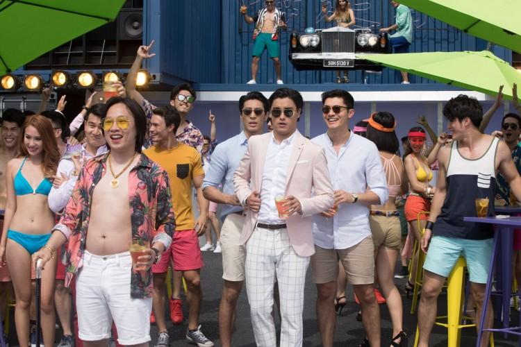 bachelor party crazy rich asians