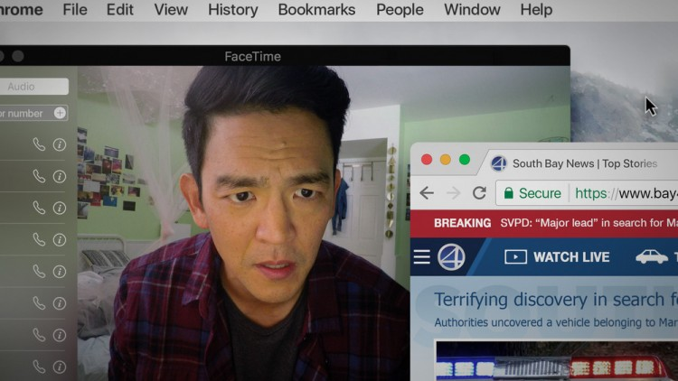 Searching, Thriller, John Cho