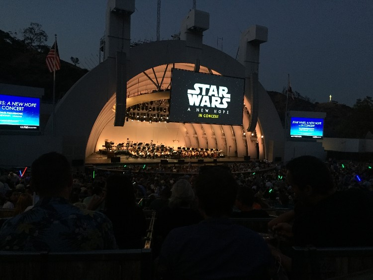 star wars a new hope in concert, Star wars in concert hollywood bowl, things to do in los angeles