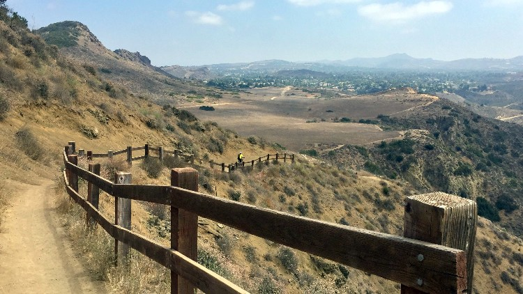 Conejo Valley hikes, Lizard Rock Trail