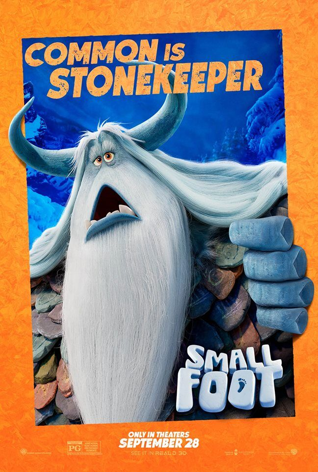 Common, stonekeeper, small foot