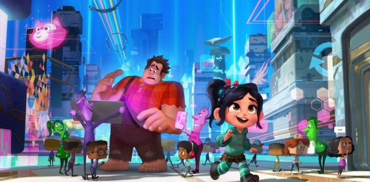 ralph breaks the internet princesses