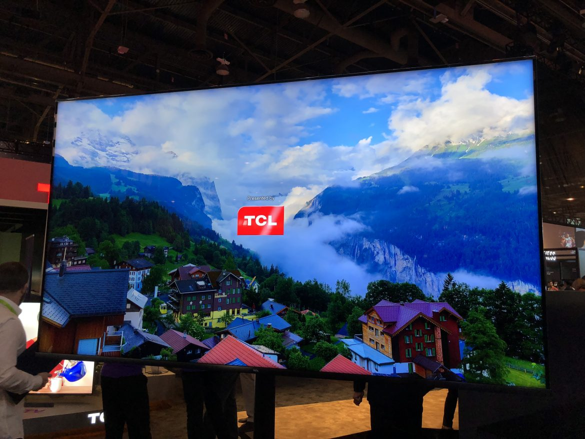 CES 2019 - TCL Products First Look - That's It LA