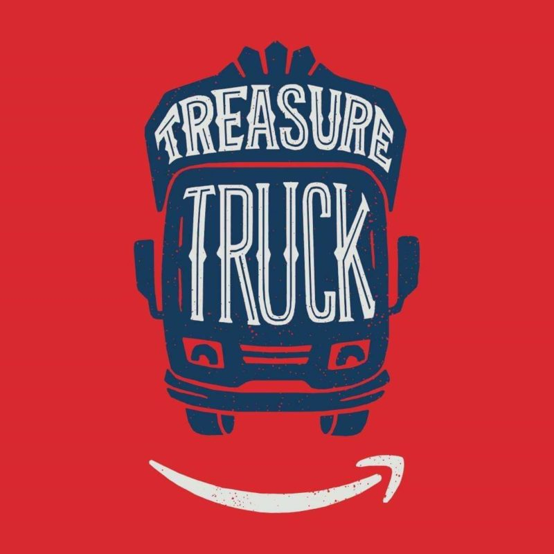 Pup fest, amazon treasure truck