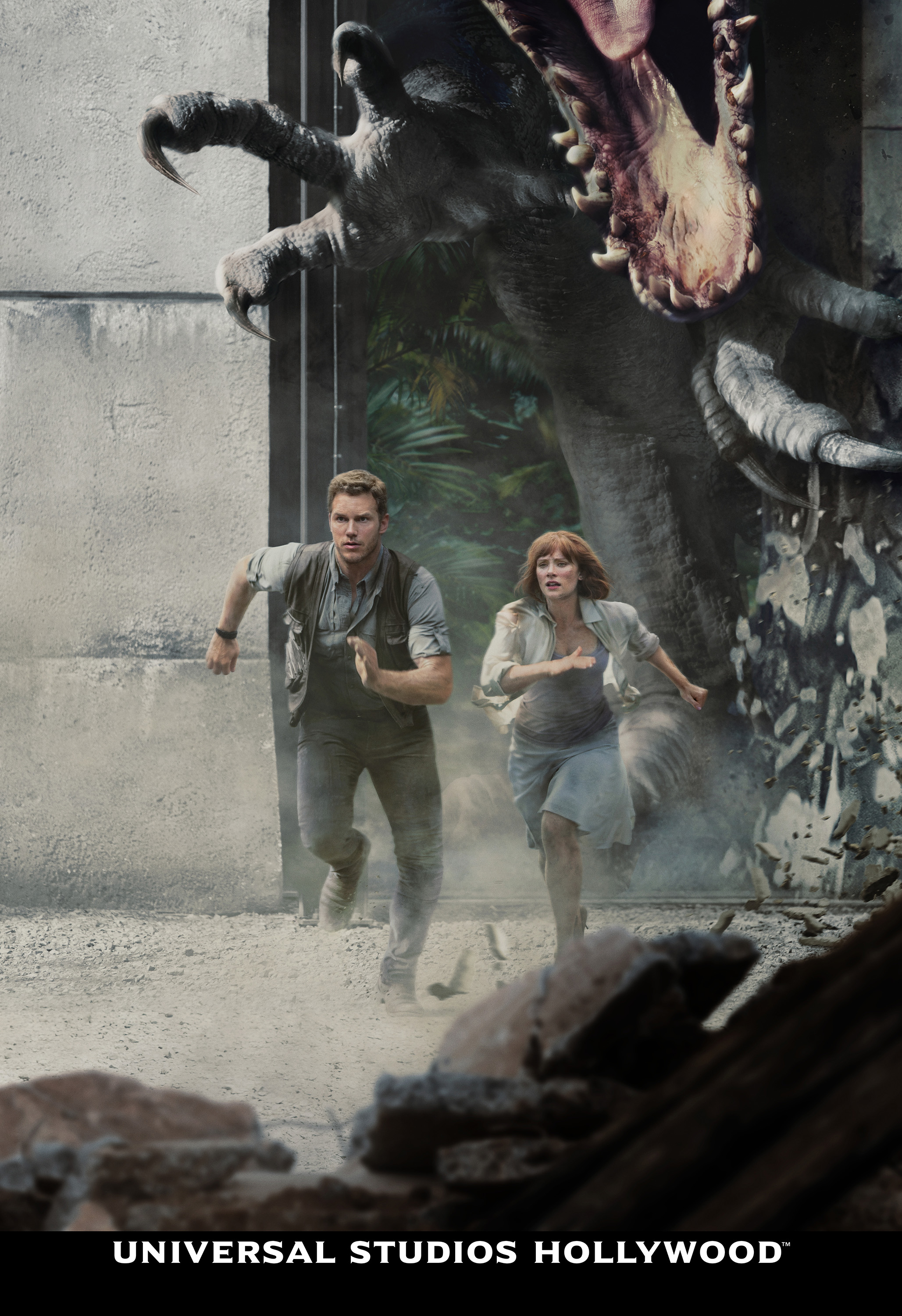 Jurassic World the ride, chris pratt