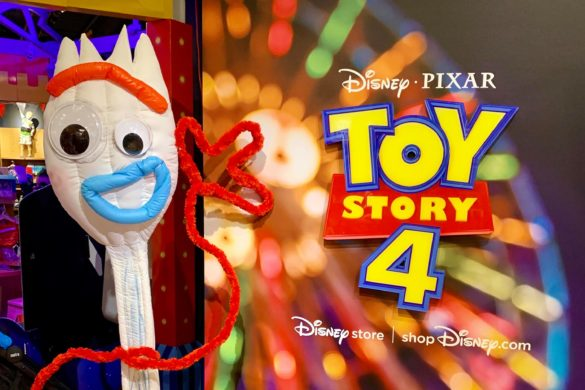 Toy story 4 takeover