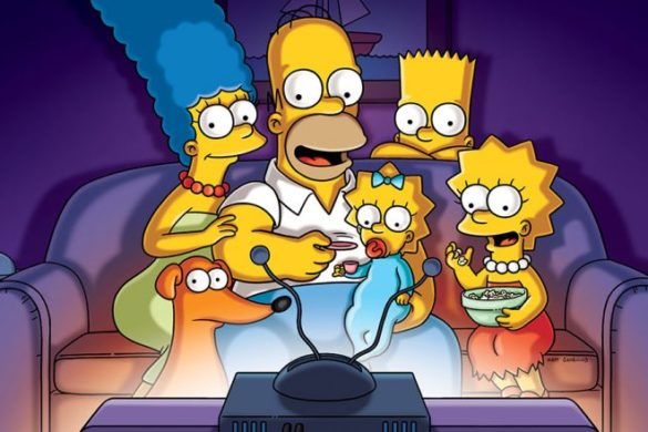 Disney d23 simpsons
