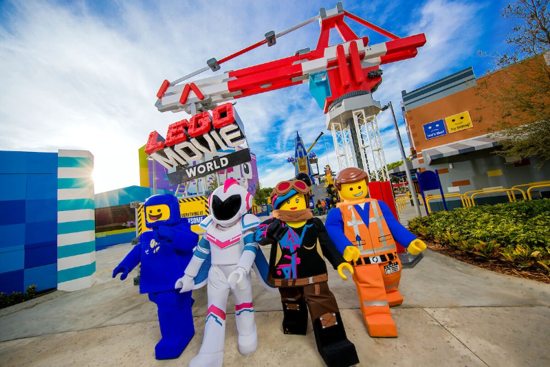lego movie world, legoland california