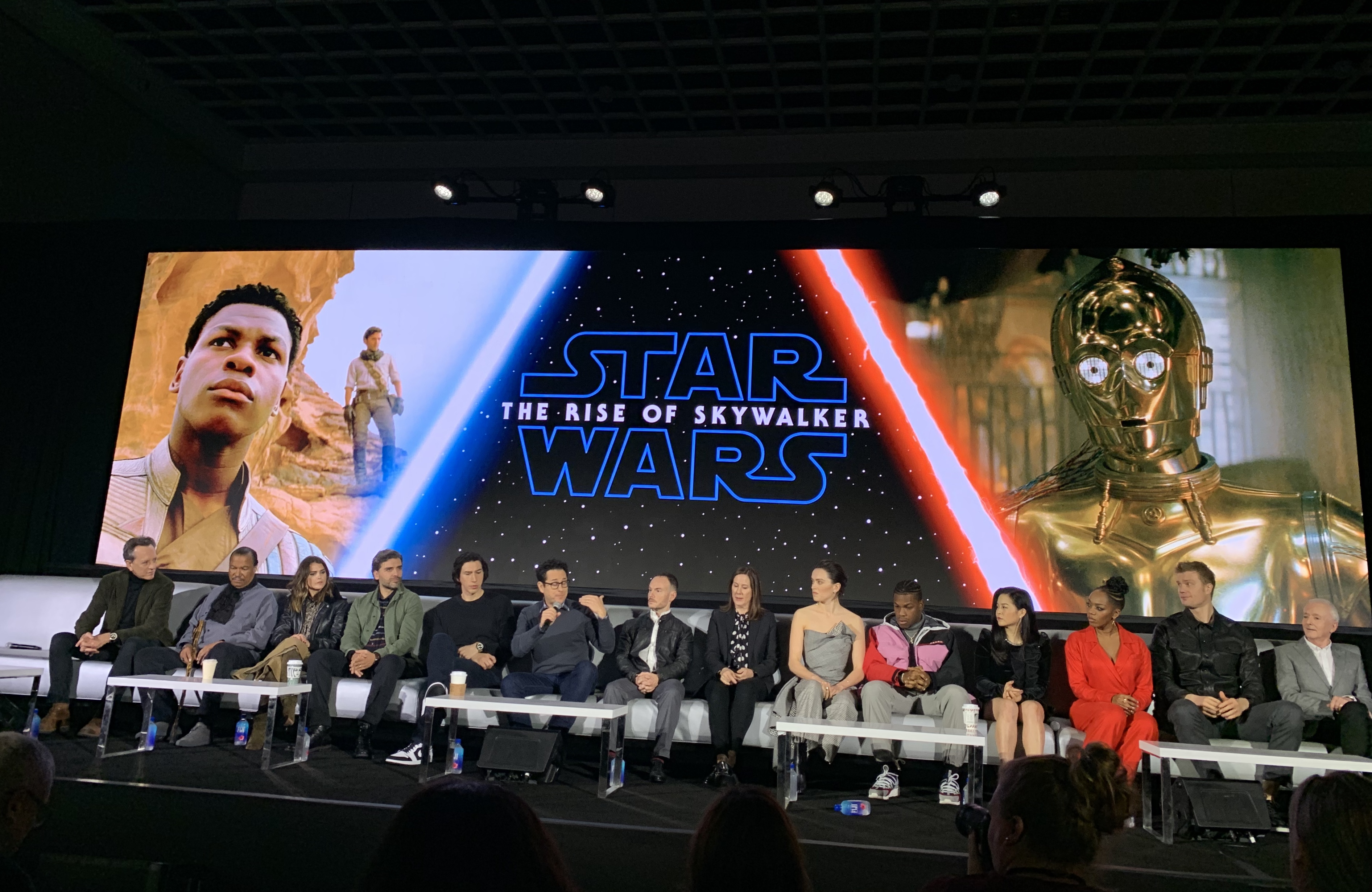 20 Things I Learned From The Cast And Crew Of Star Wars The Rise Of Skywalker That S It La