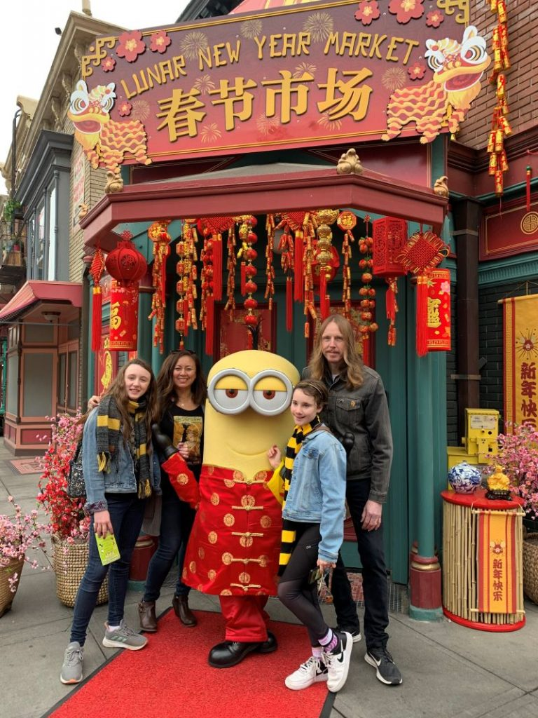 Lunar New Year Universal Studios Hollywood Minions