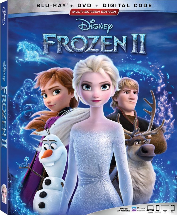 1 Blu-ray Combo Pack of Frozen 2 Giveaway