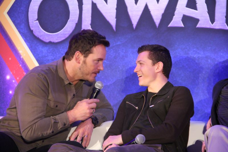 onward tom holland chris pratt
