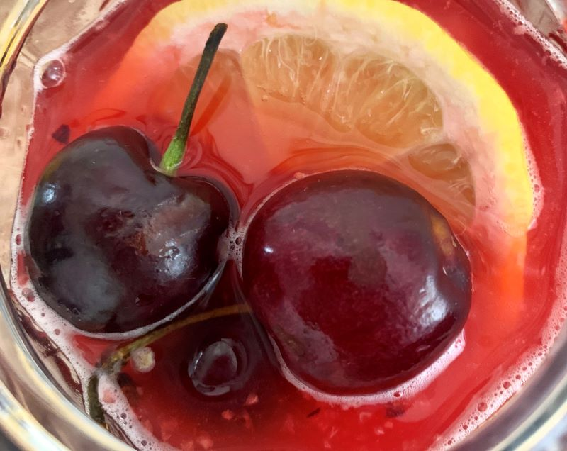 easy cherry lemonade