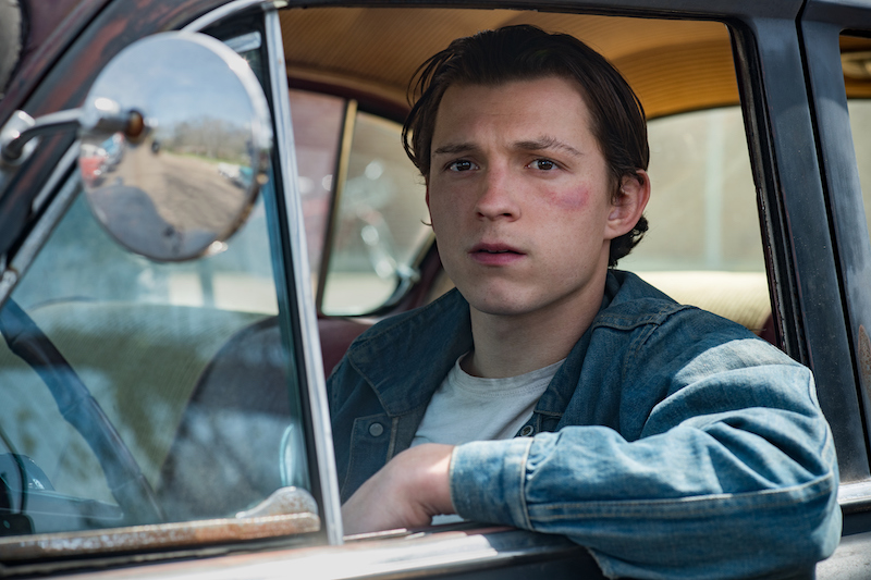 the devil all the time, Tom Holland, netflix
