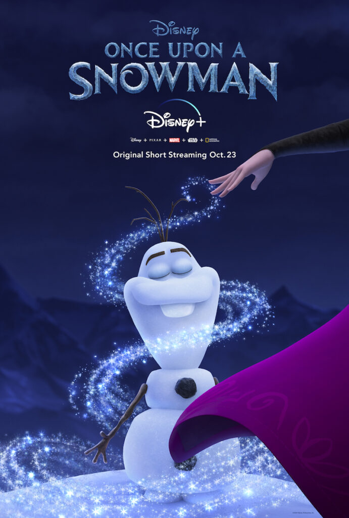 once upon a snowman, disney plus october 23