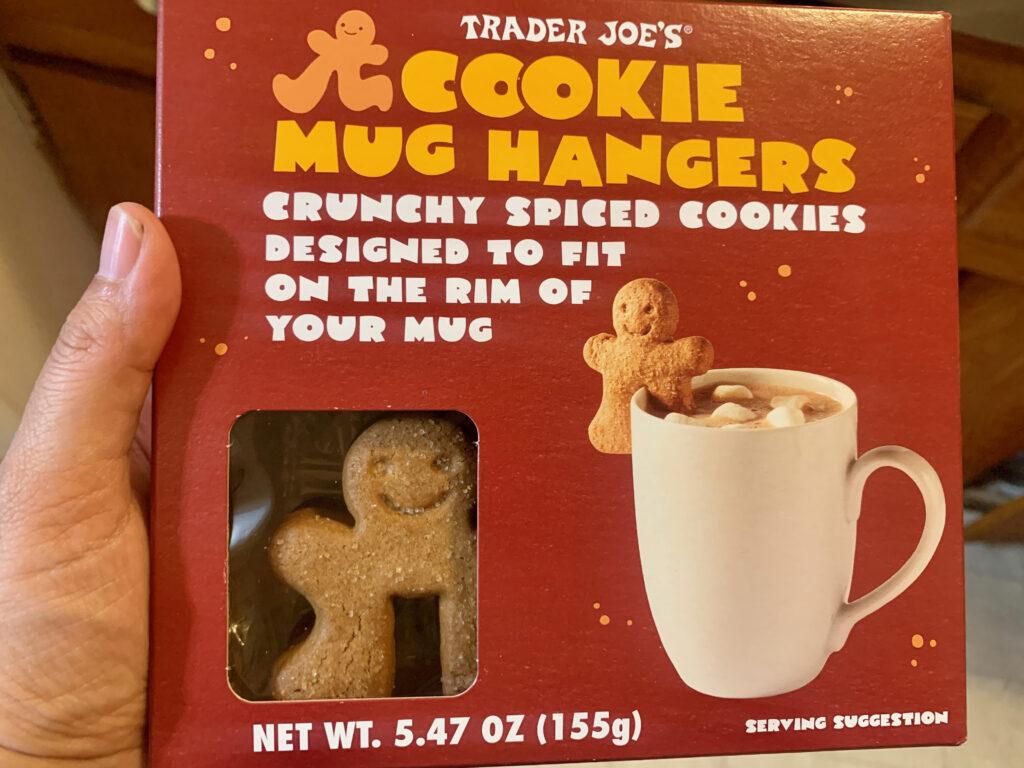 cookie mug hangers, trader joes
