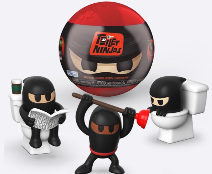 paka paka toilet ninjas