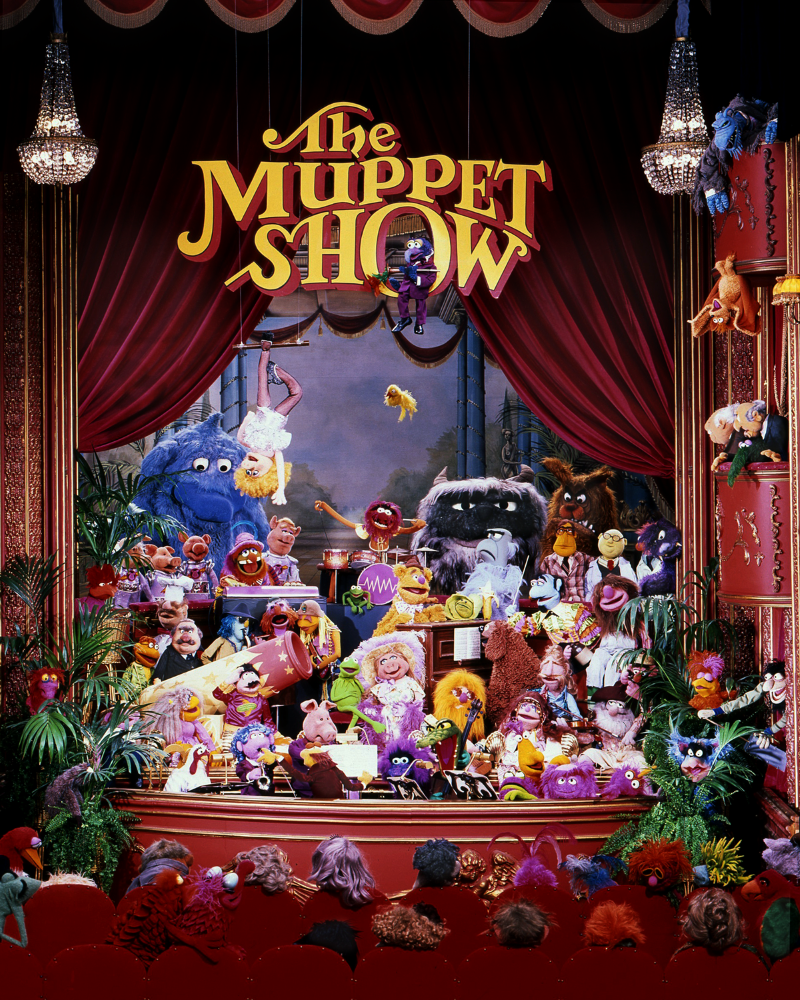 5 seasons of The Muppet Show