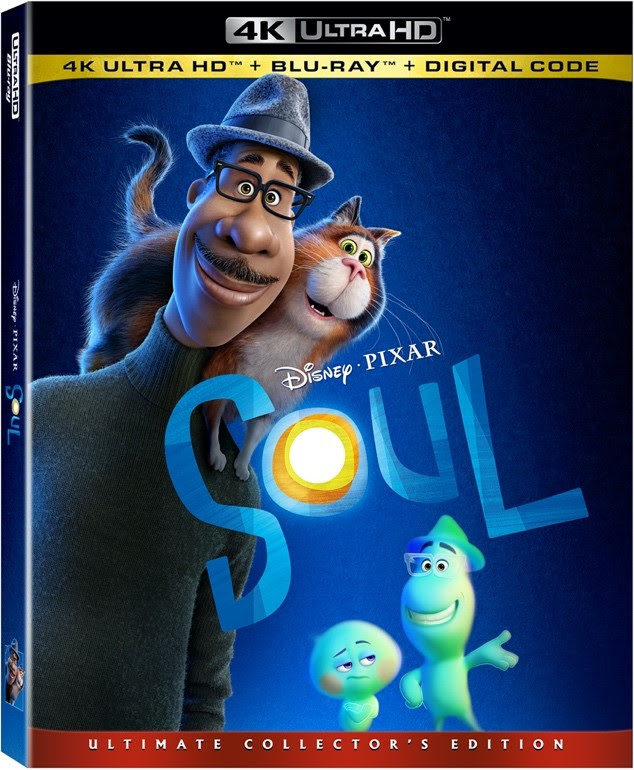 soul blu ray dvd