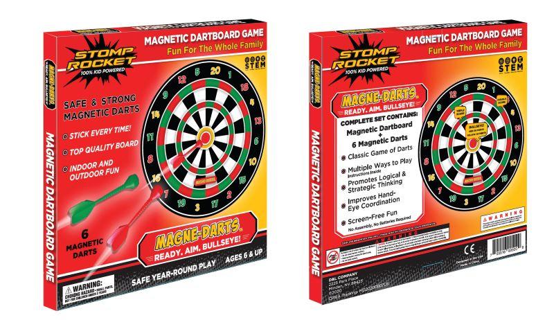 Stomp Rocket, magne darts